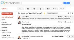 Gmail : outil de messagerie pour la petite entreprise