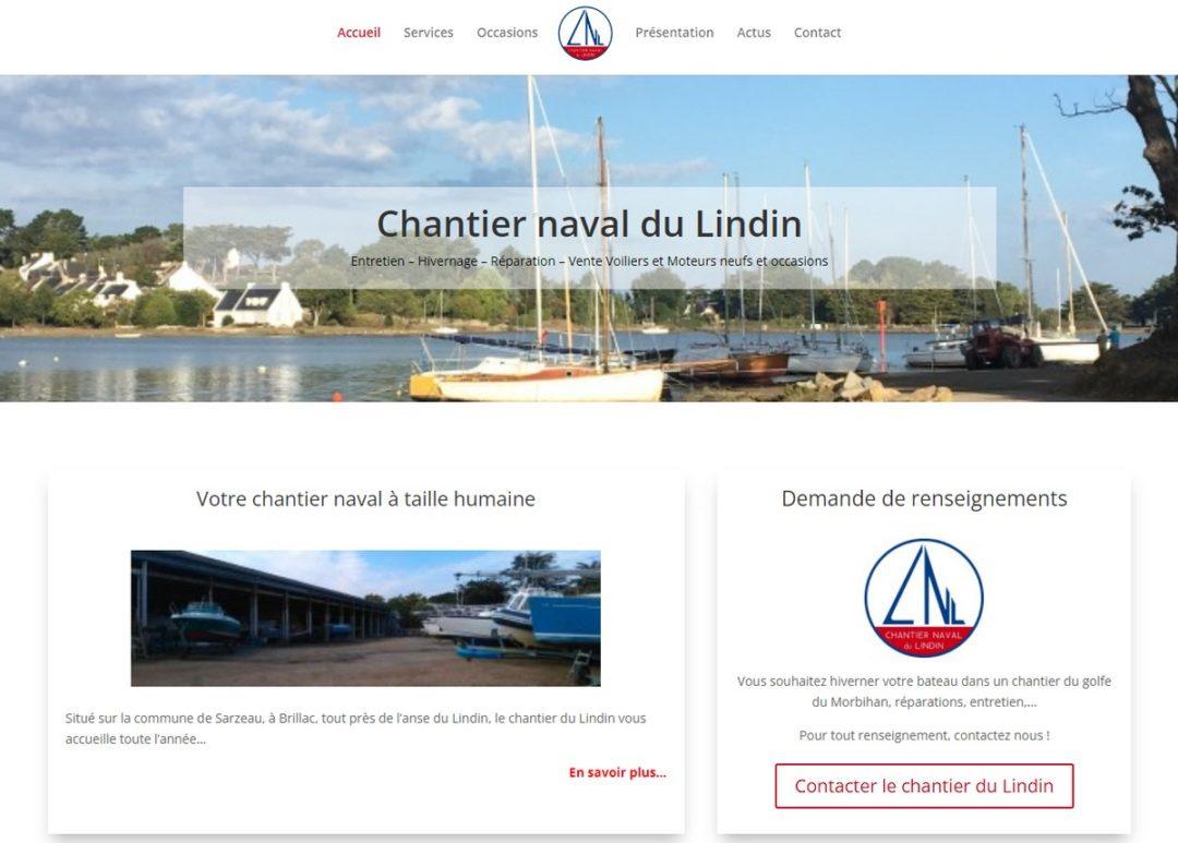 site Internet Cahntier du Lindin